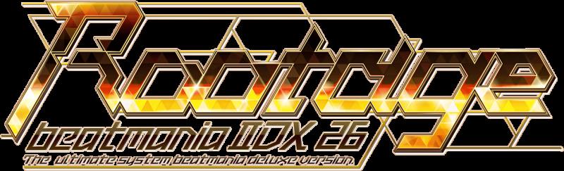 beatmaniaIIDX 26 Rootage logo